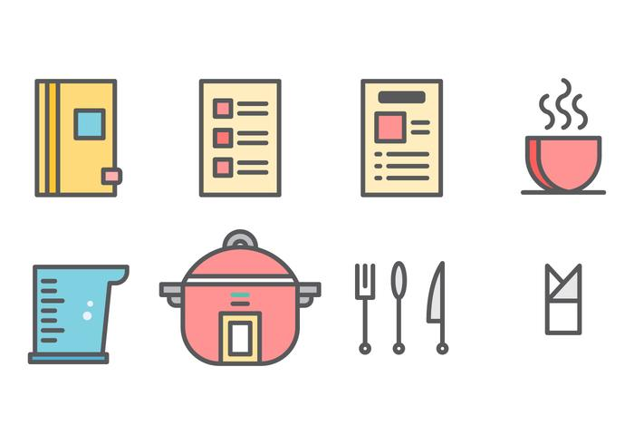 Free Recipe Cards Vector Graphic 3