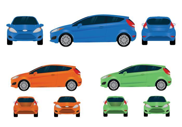 Ford Fiesta Vector Visningar