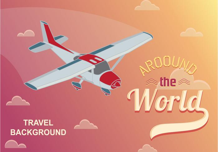 Illustration Cessna Airplane