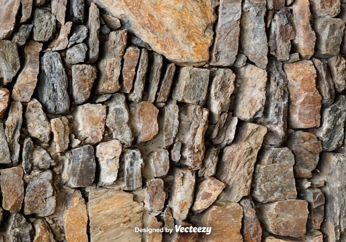Vector Realistic Stonewall Texture