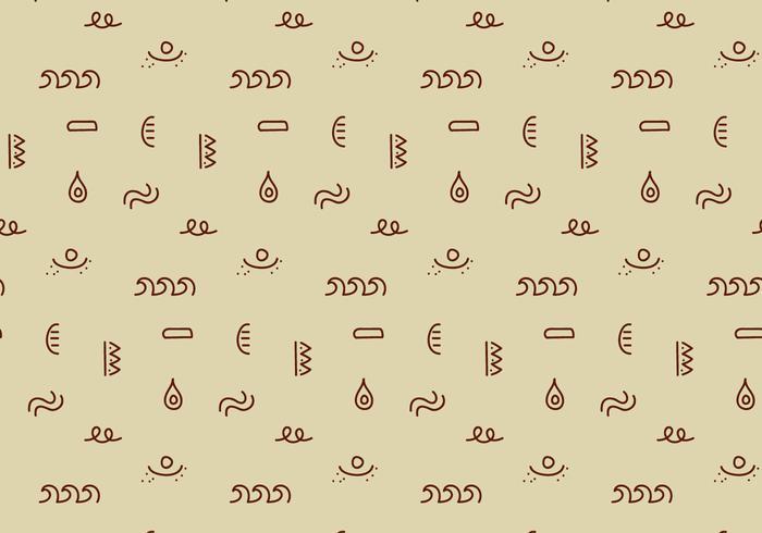 Geometrisches Stammesmuster