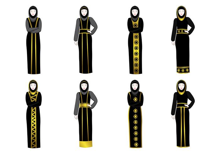 Vector Abaya gratis