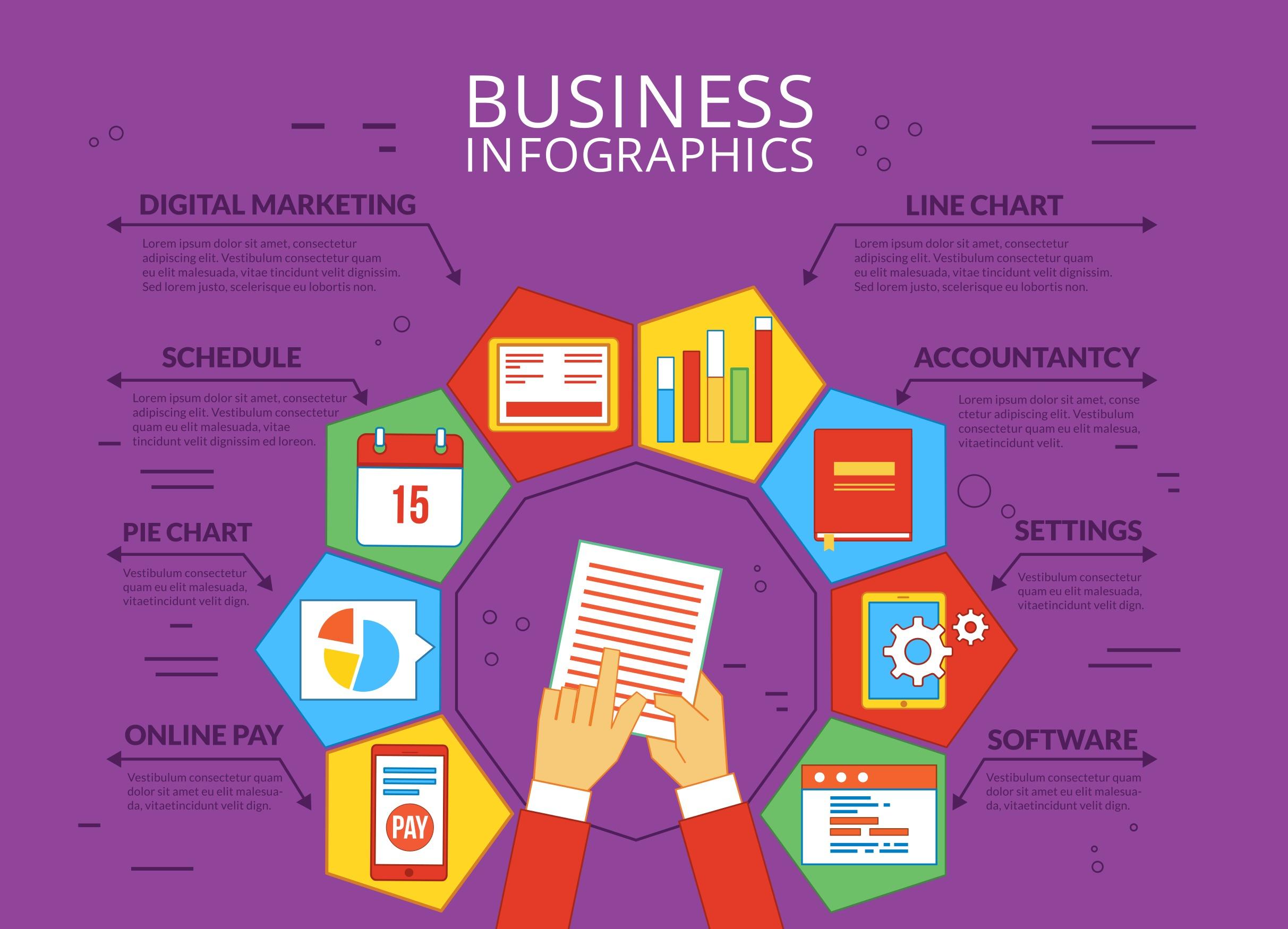 Business Vector Infographics - Download Free Vector Art ...
