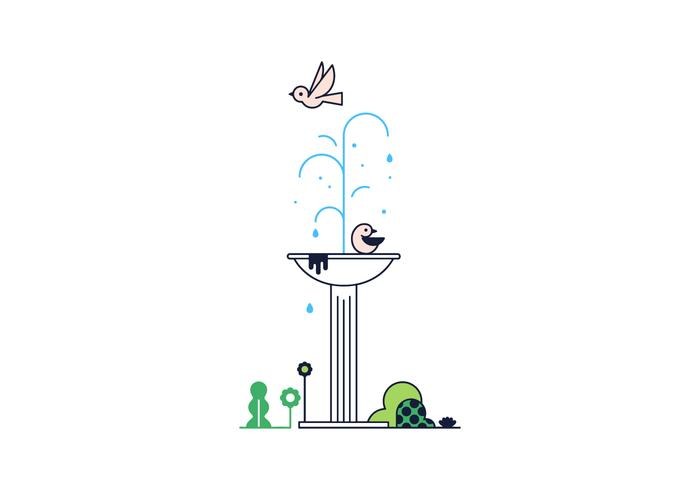 Free Fountain Vector