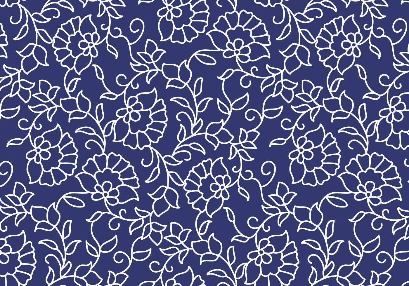 Outline Floral Pattern Download Free Vector Art Stock