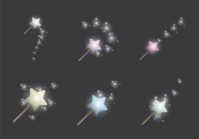 Pixie Dust Ilustraciones Vectoriales