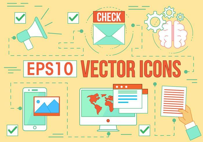 Free Digital Media Vector Icons