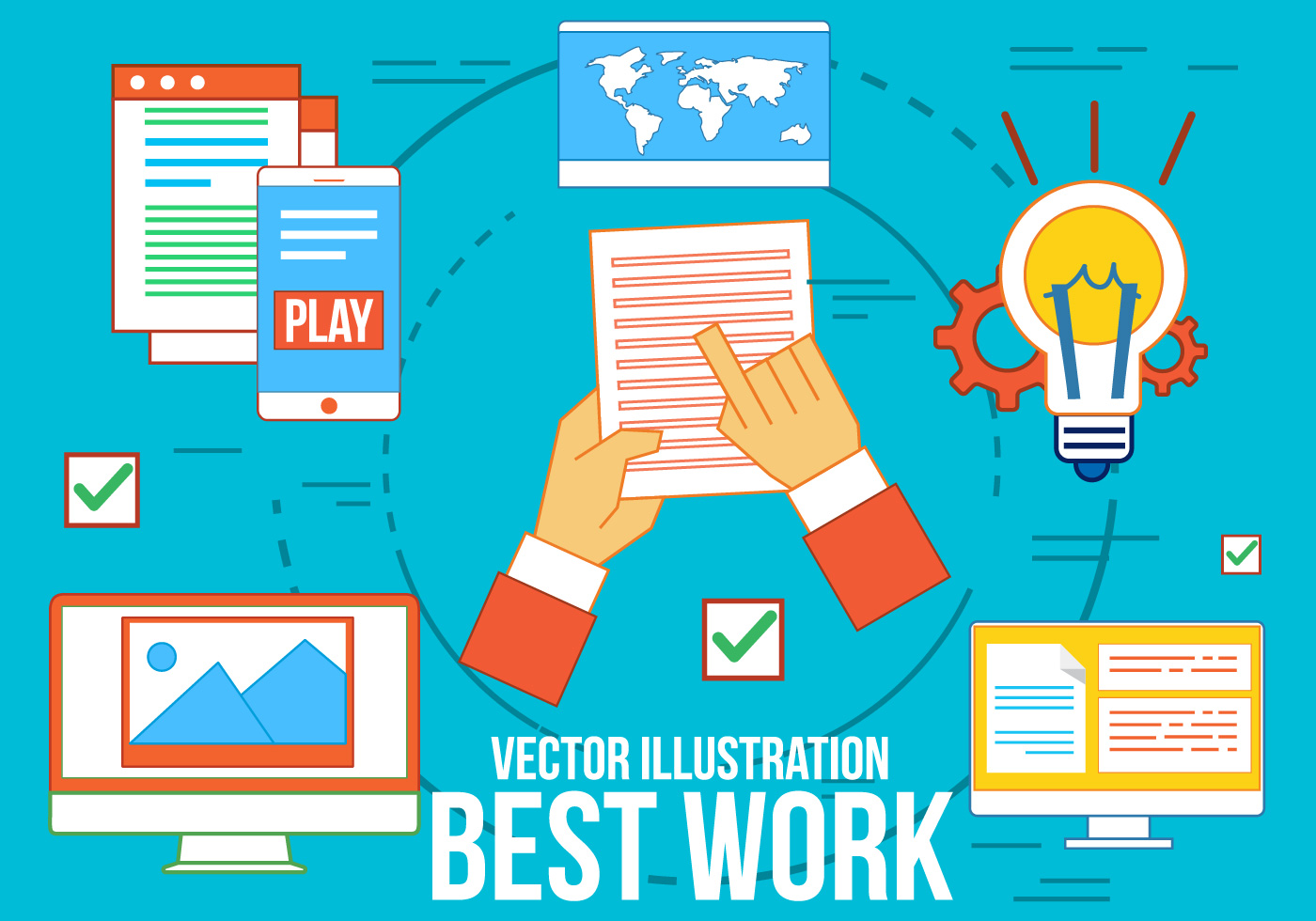 Free Best Work Vector Icons Download Free Vector Art