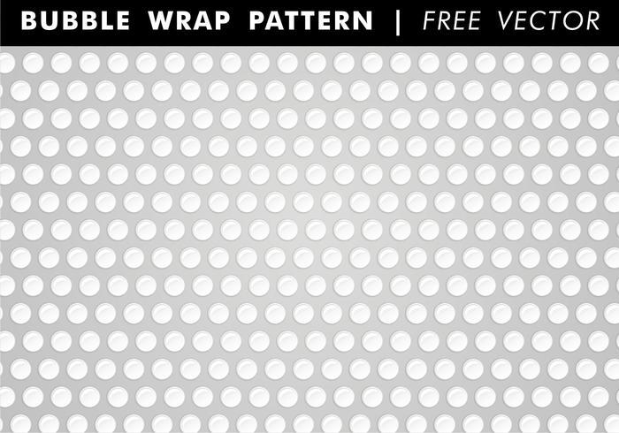 Bubble Wrap Patrón Vector Libre