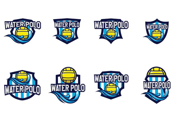 Vector libre del water polo