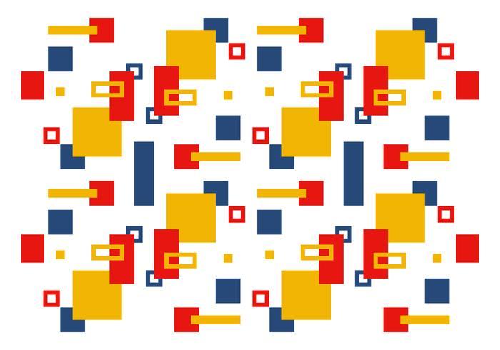 Padrão Bauhaus do vetor