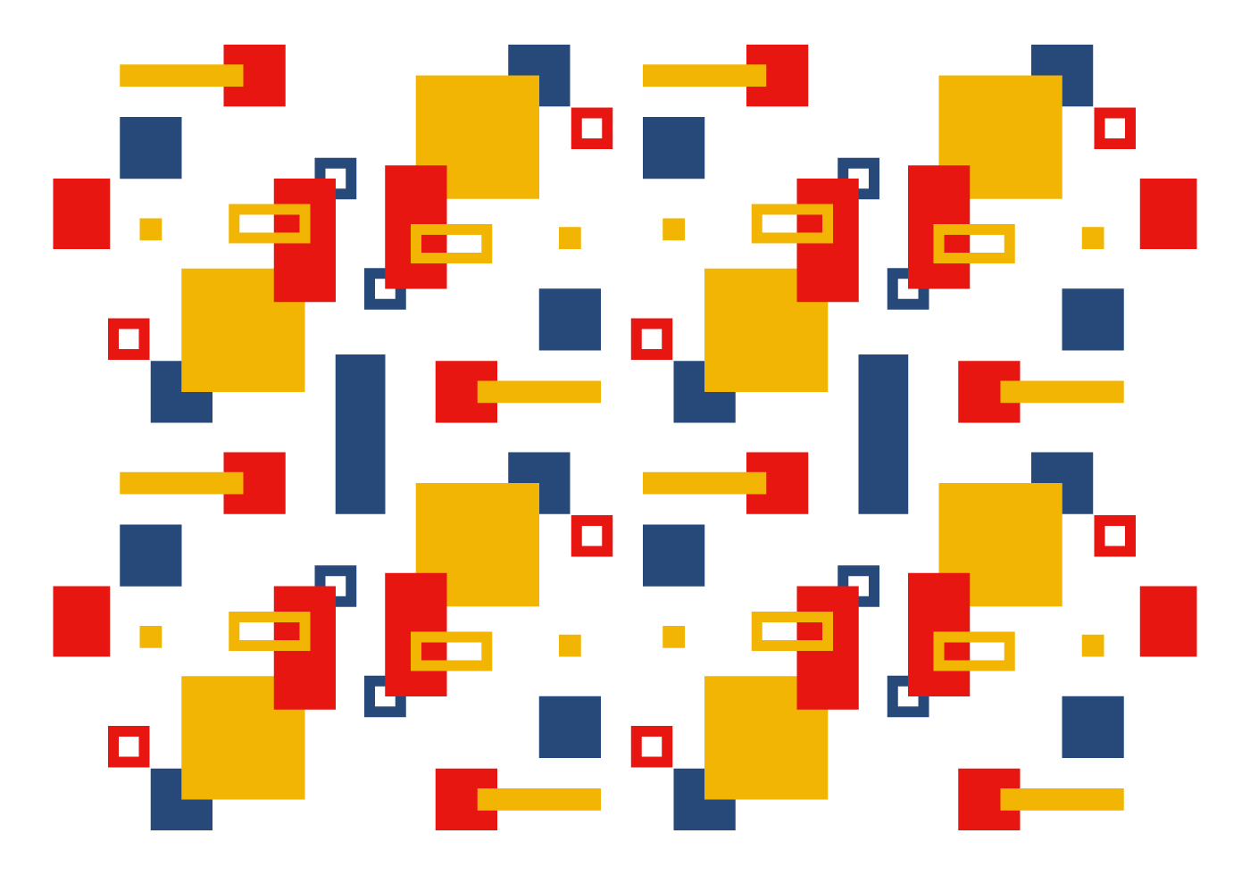 vector bauhaus pattern