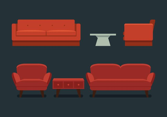 Sofa Free Vector Art 15595 Free Downloads