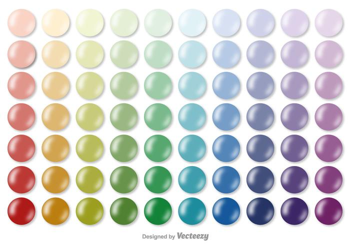 Vector Color Swatches Collection