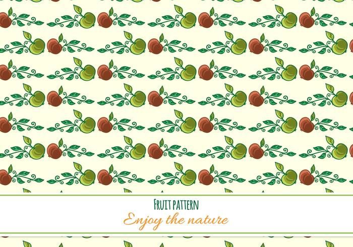 Free Vector Fruit Pattern