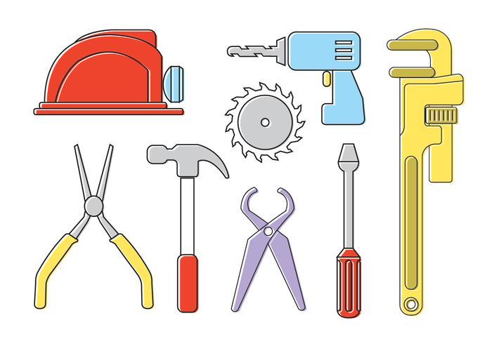 Vektor verktyg uppsättning