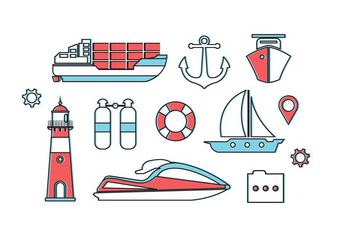 Free Nautica Vector Elements