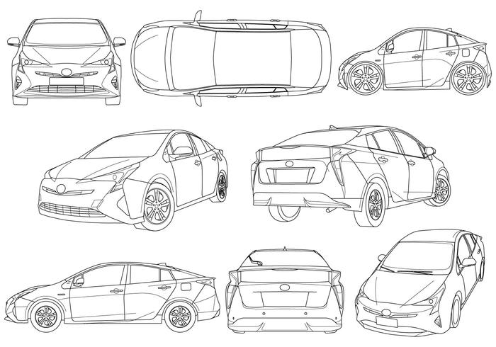 Free Illustration Of Hybrid Car