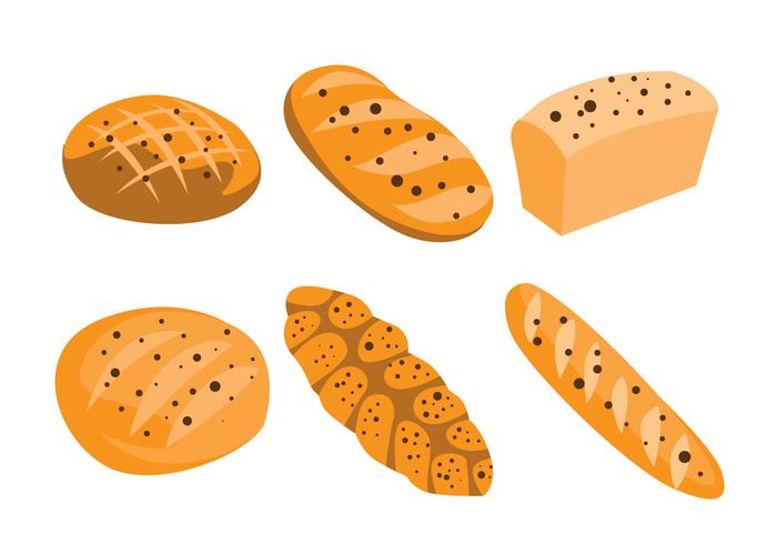 Raisin Bread Vectors