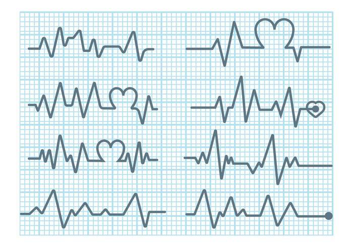 Heart Monitor Vector