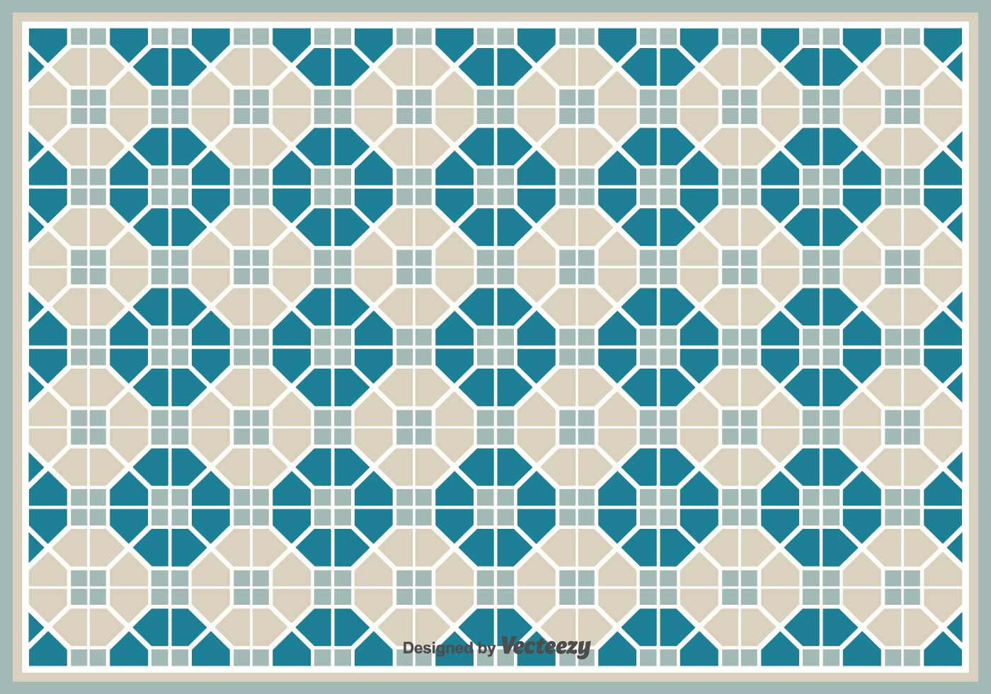 Simple Vector Pattern/Tiles With Geometric Shapes Pattern - Download ...
