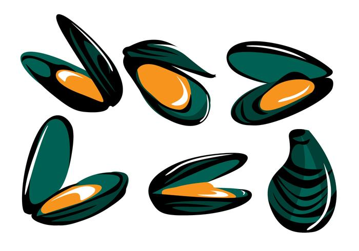 mussel vector download free vector art stock graphics images rh vecteezy com Cartoon Ocean Clip Art Borders Free Free Nautical Clip Art