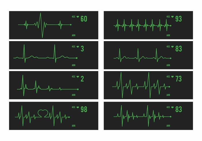 Vector Heart Monitor Set