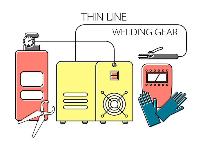Welding Vector Elements