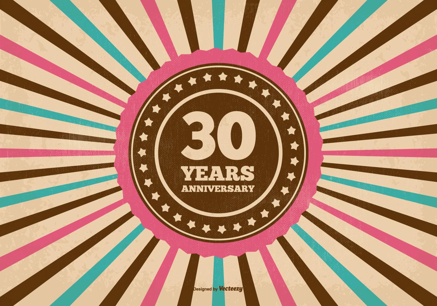 30 years anniversary free vector art 5424 free downloads