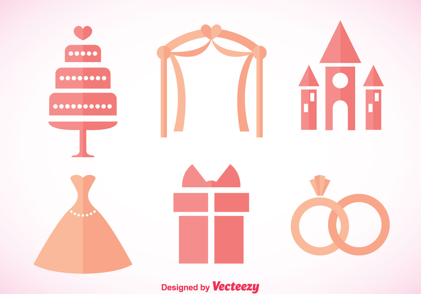 Wedding Pink Icons - Download Free Vector Art, Stock Graphics & Images: www.vecteezy.com/vector-art/113832-wedding-pink-icons