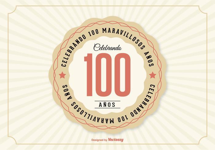 100th Aniversario Illustration