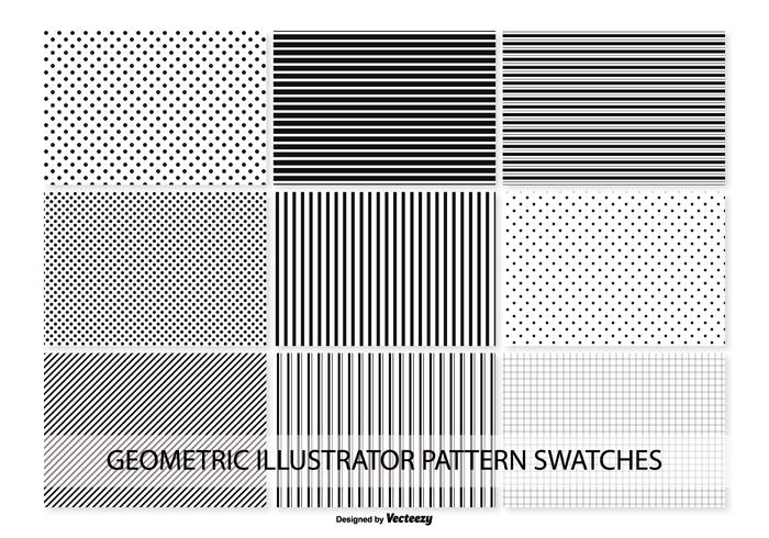 Swatch Pattern Geometric Vector