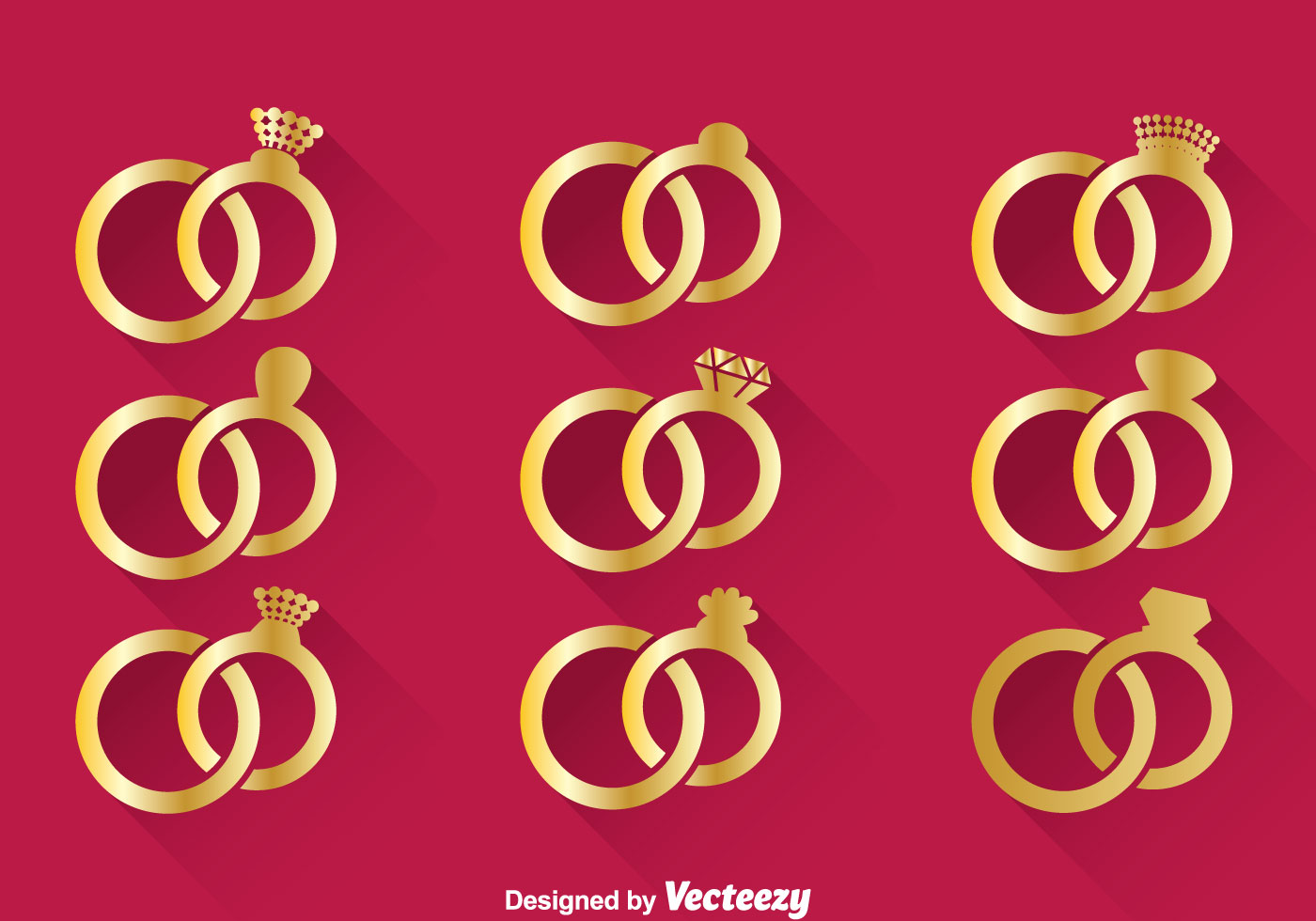 Wedding Gold Ring Vector Download Free Vector Art Stock