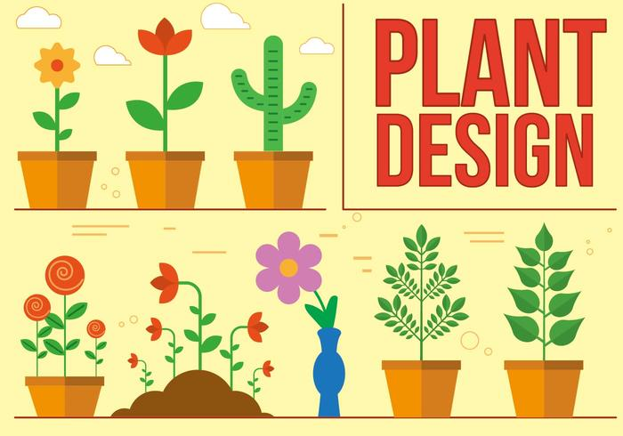 Free Plant Vector Design