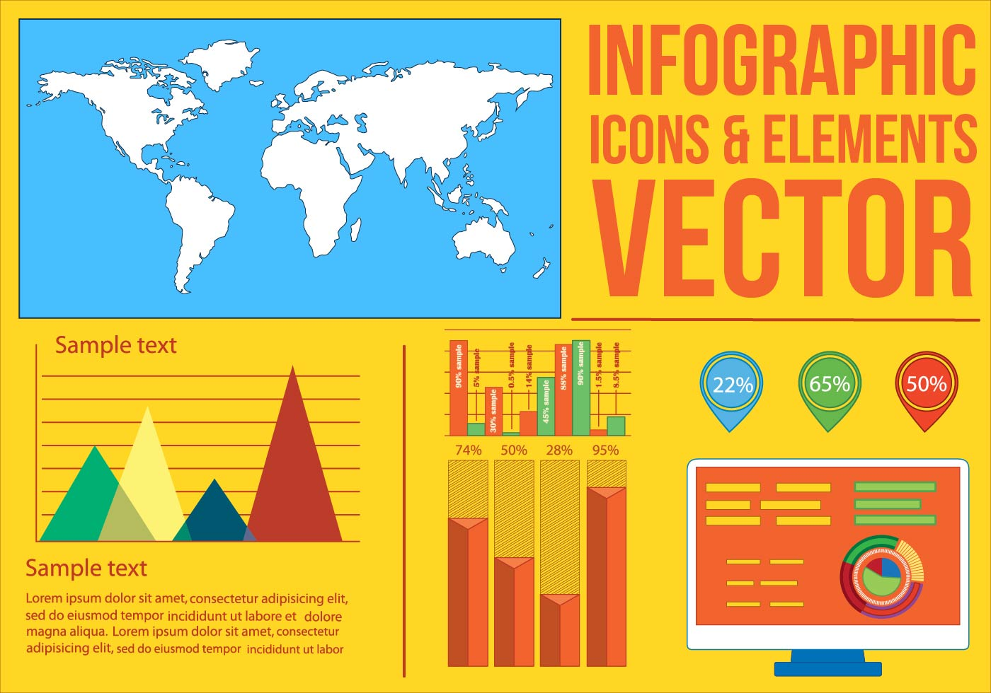 Infographic free vector download 5418 Free vector for