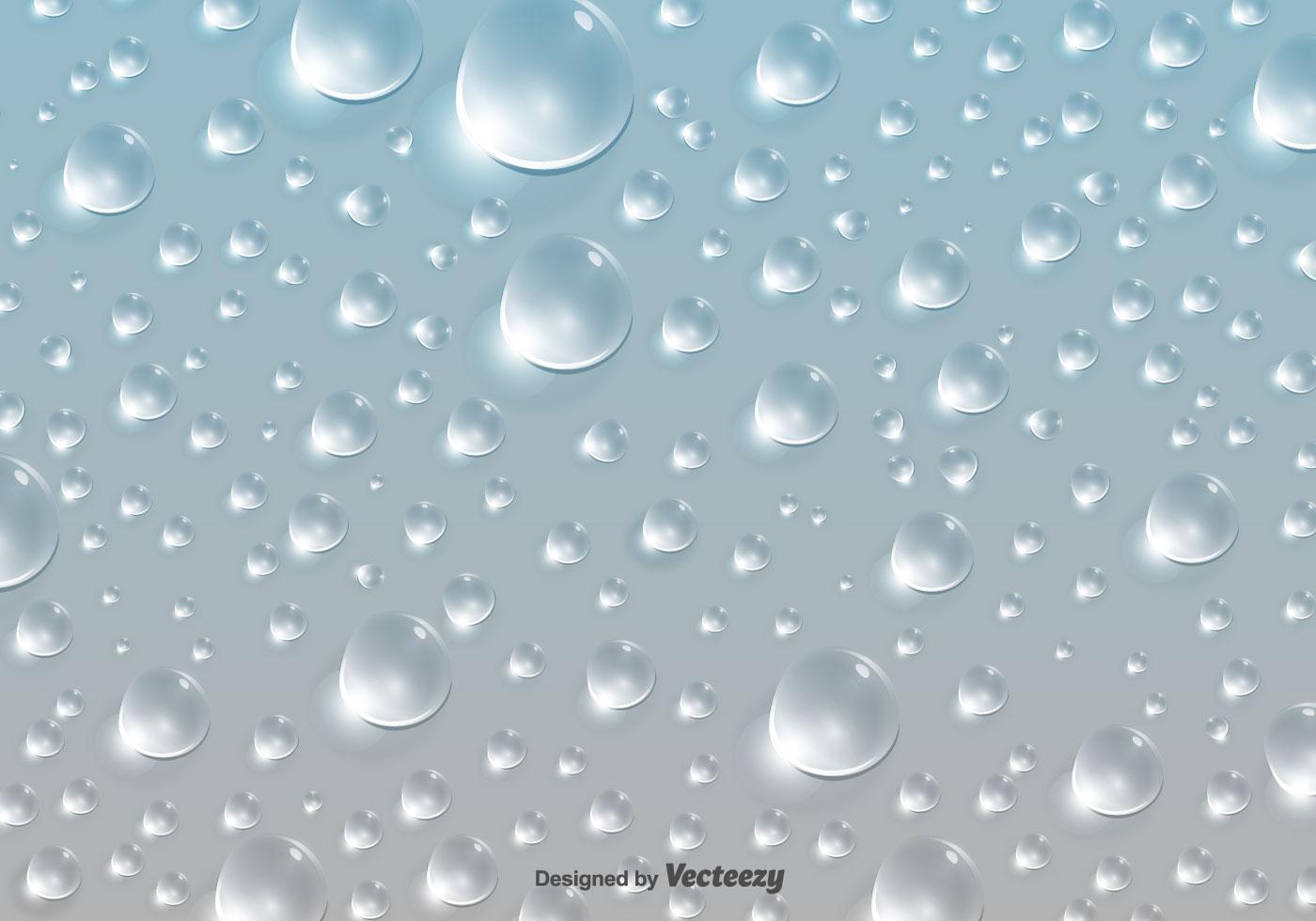 Water Drops Pattern Ba...
