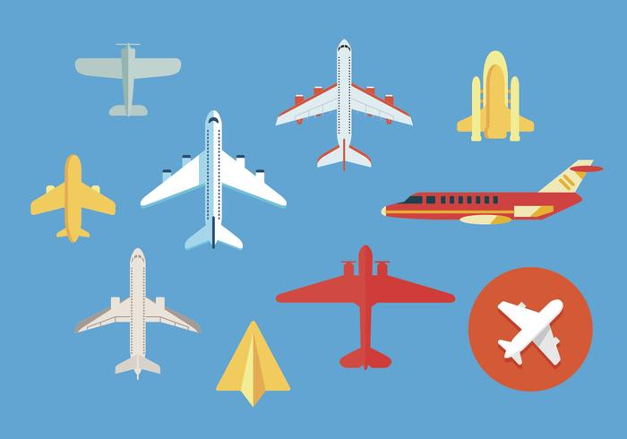 Avion vector illustrations 2