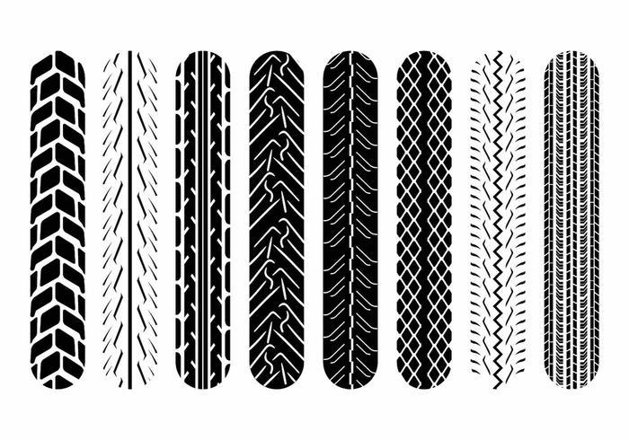 Marcas de pneu da motocicleta