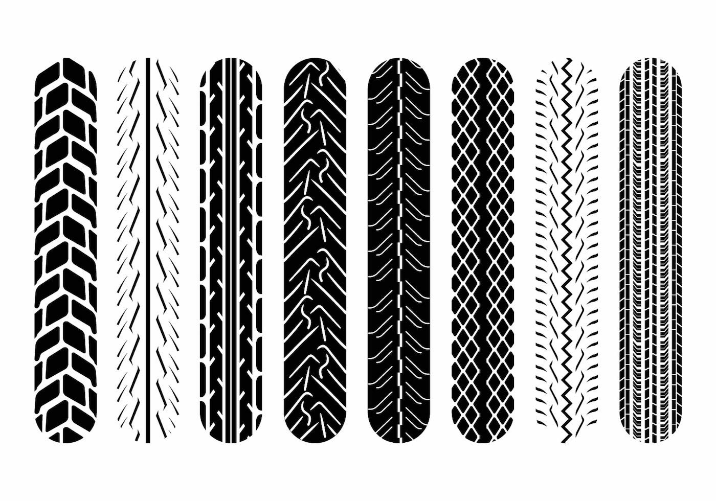 Motorcycle Tire Tracks Free Vector Art 38 Free Downloads