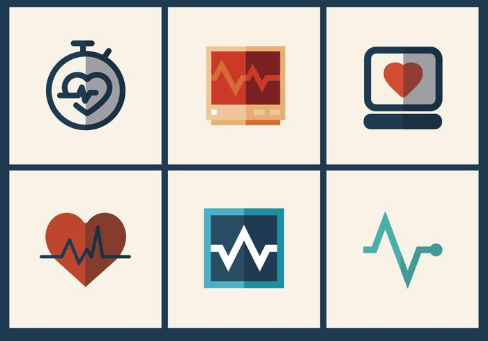 Heart Monitor Vector Pack 2