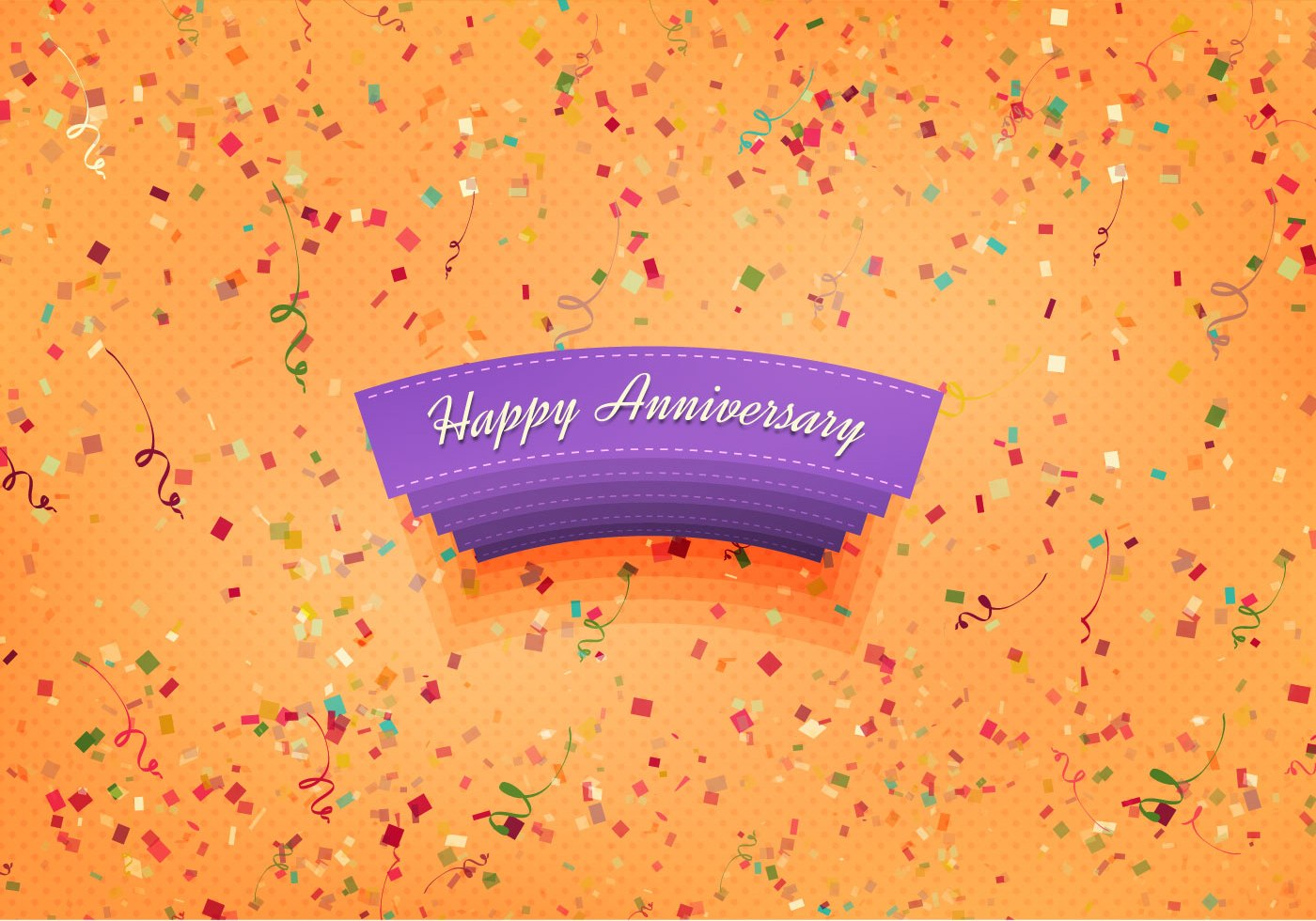 Free vector happy anniversary background download