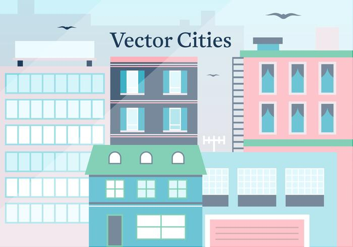 Free City Vector Illustration