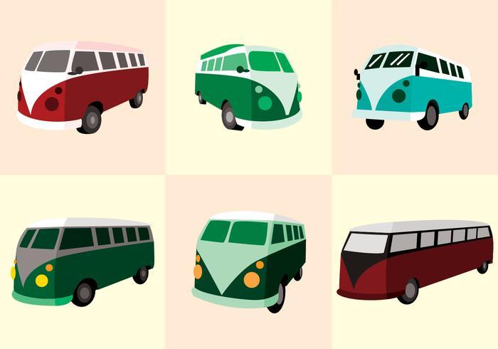 VW Camper Vektor