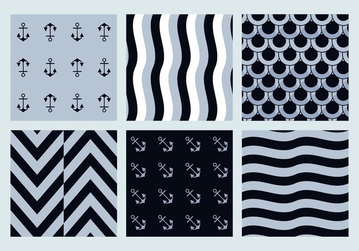 Free Marine Vector Patterns 2