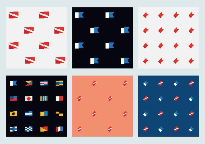 Free Marine Flag Patterns