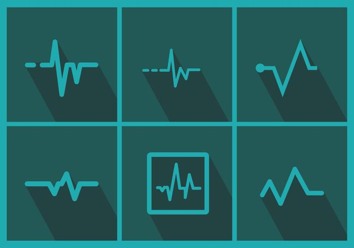 Heart Monitor Vector Pack 1
