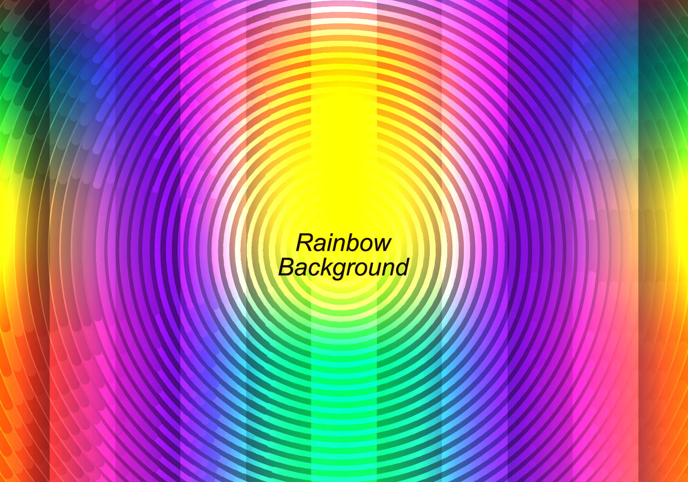 free vector colorful rainbow background download vetores e