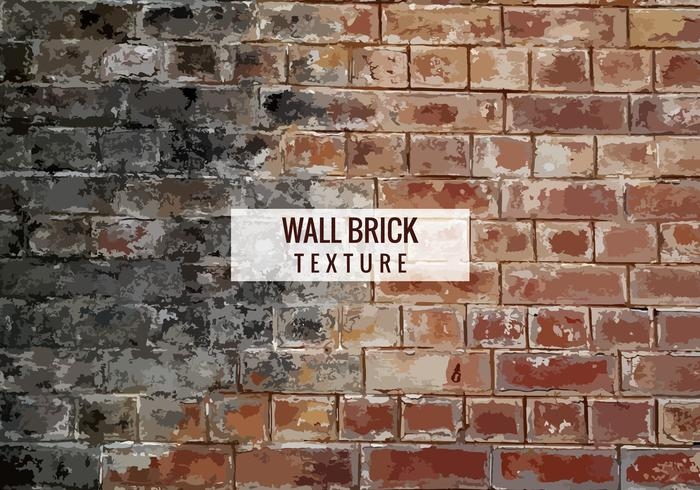 Free Vector Brick Texture Background