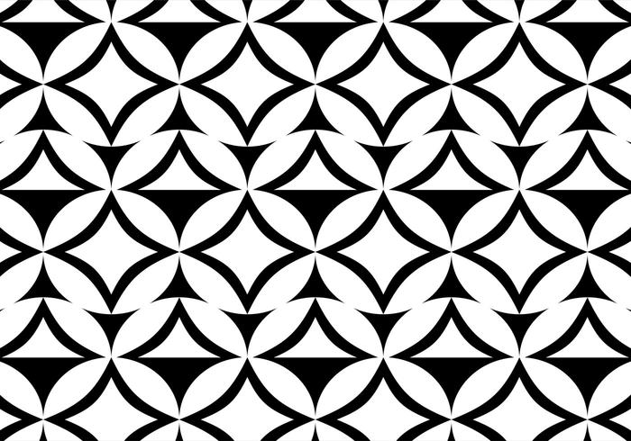 Free Vector Black and White Pattern Background