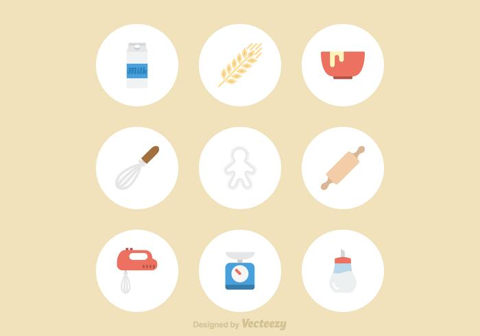 Free Baking Vector Icons